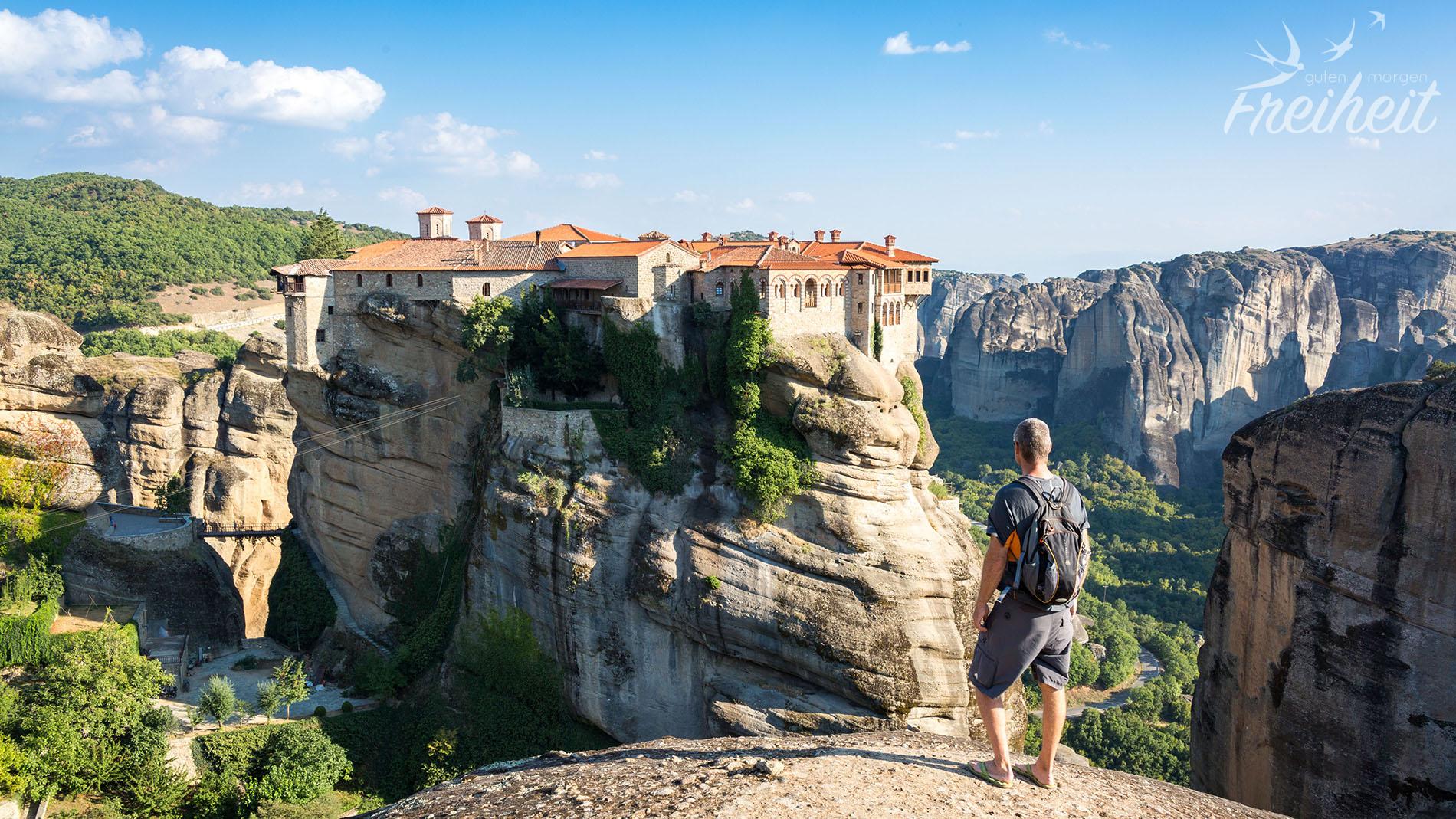 Meteora Klöster Karte.Meteora Klöster Ein Highlight In Griechenland Guten Morgen Freiheit